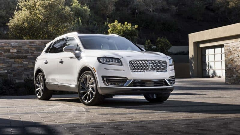 2019 Ford Lineup - 2019 Lincoln Nautilus 3/4 view