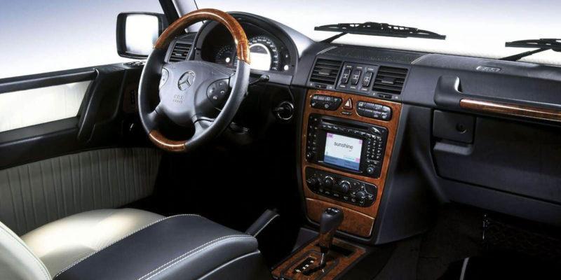 Mercedes-benz g55 amg Interior