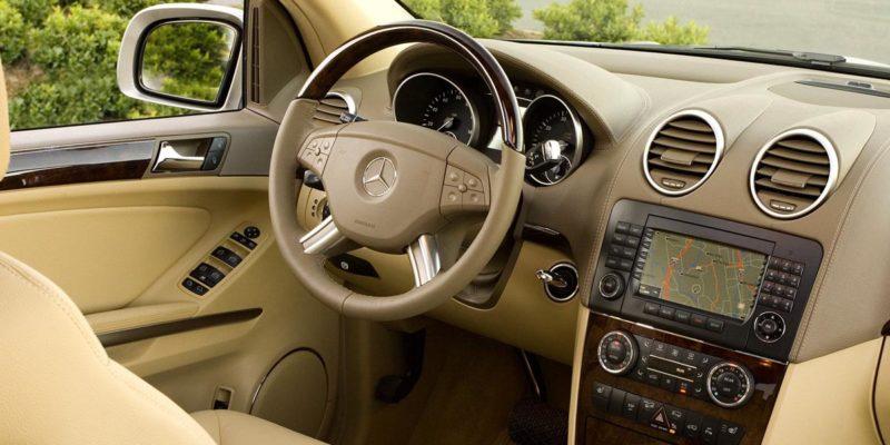 Mercedes GL-class X164 Interior