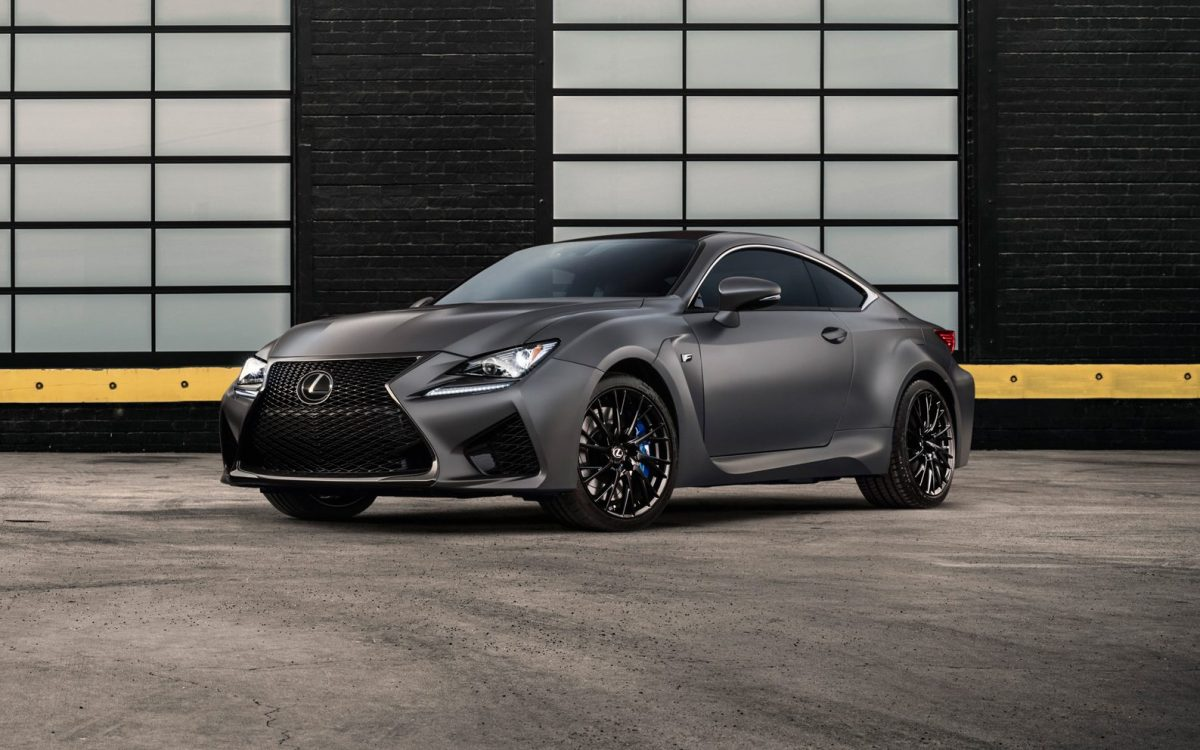 Lexus Rc F 10th Anniversary Edition 3/4 view