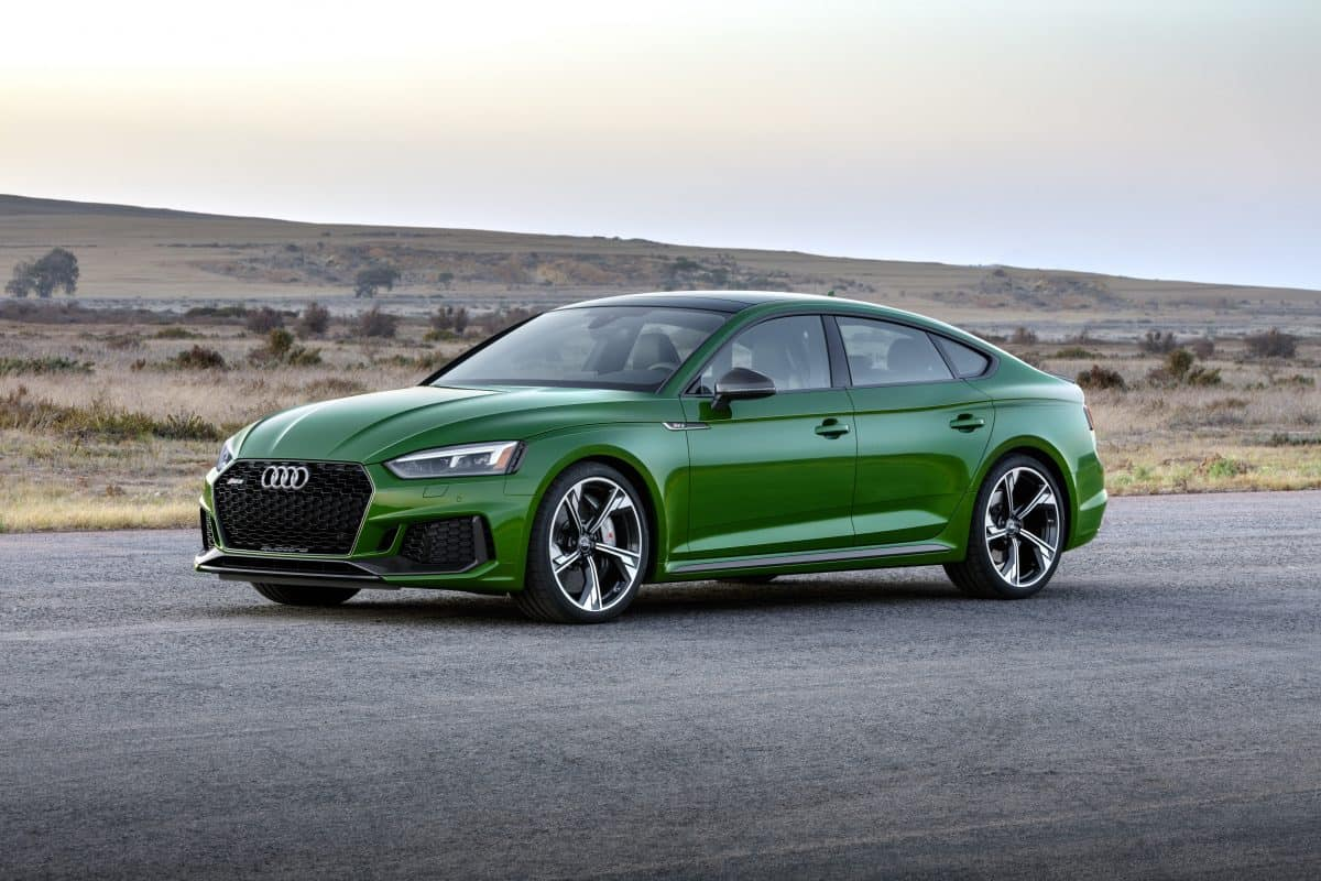 2019 Audi RS5 Sportback 3/4 view