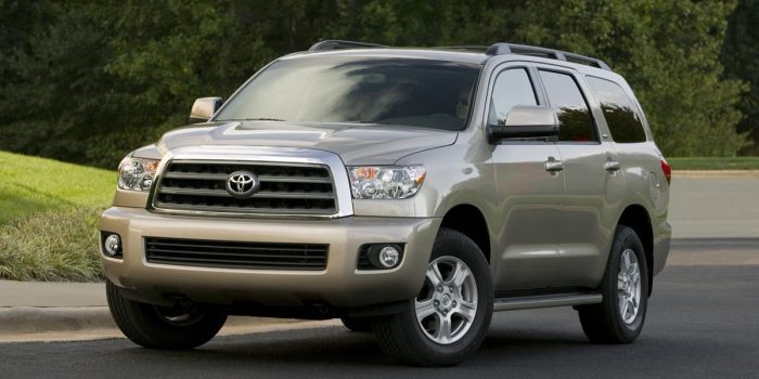 Toyota Sequoia Best Family SUV