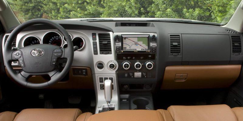 Toyota Sequoia Interior