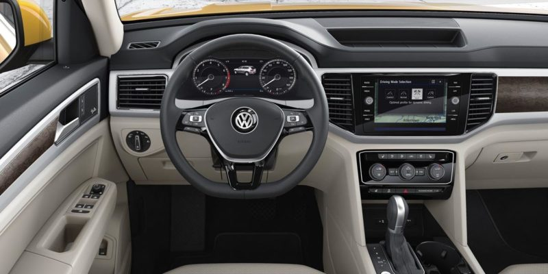 Volkswagen Atlas Interior