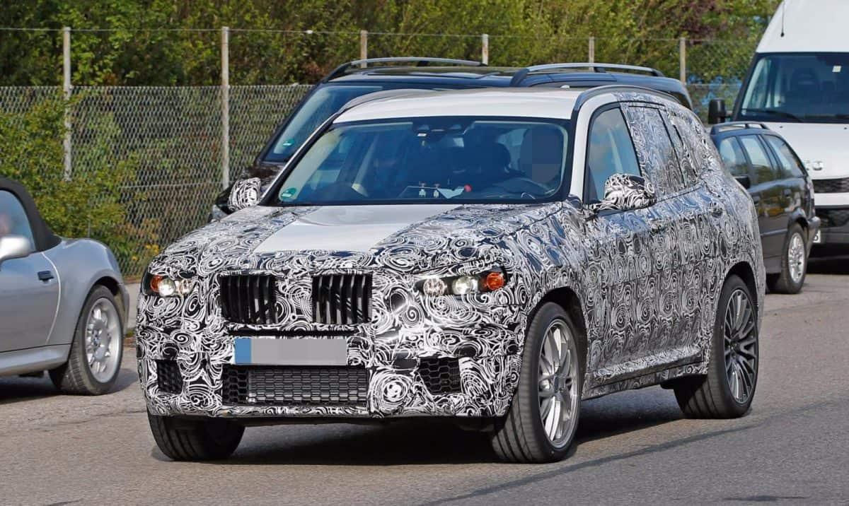 BMW X3 M test mule