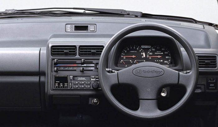 1994 Honda Today interior Honda JDM