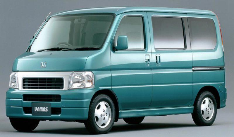 1999 Honda Vamos Front 3/4