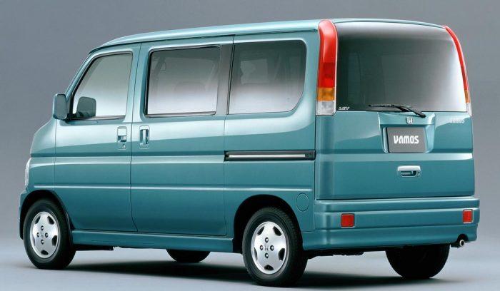1999 Honda Vamos Honda JDM Rear