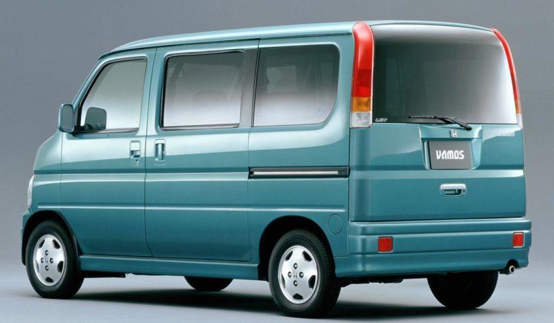 1999 Honda Vamos Rear