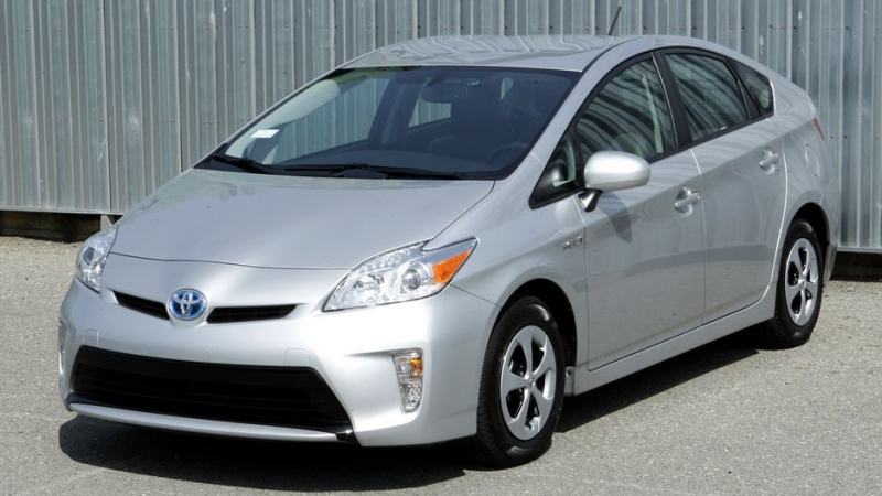 2012 Toyota Prius - drivers side front view