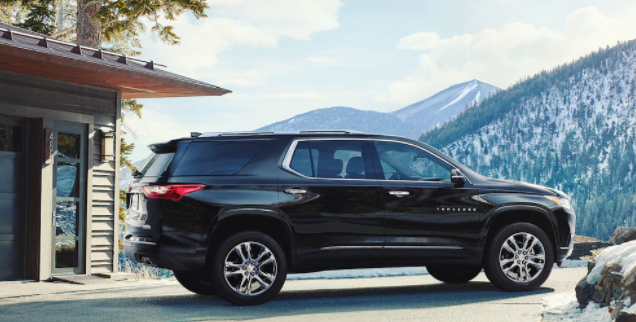 2018 Chevy Traverse mid-size SUV