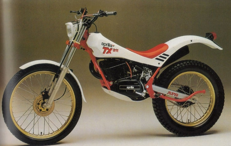 Aprilia Motorcycles - Aprilia TX311