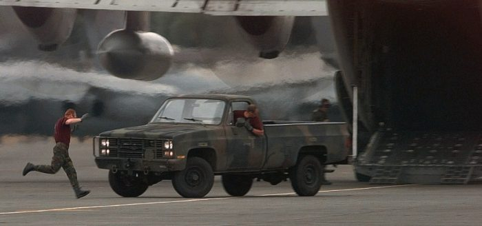 Chevy military truck m1008