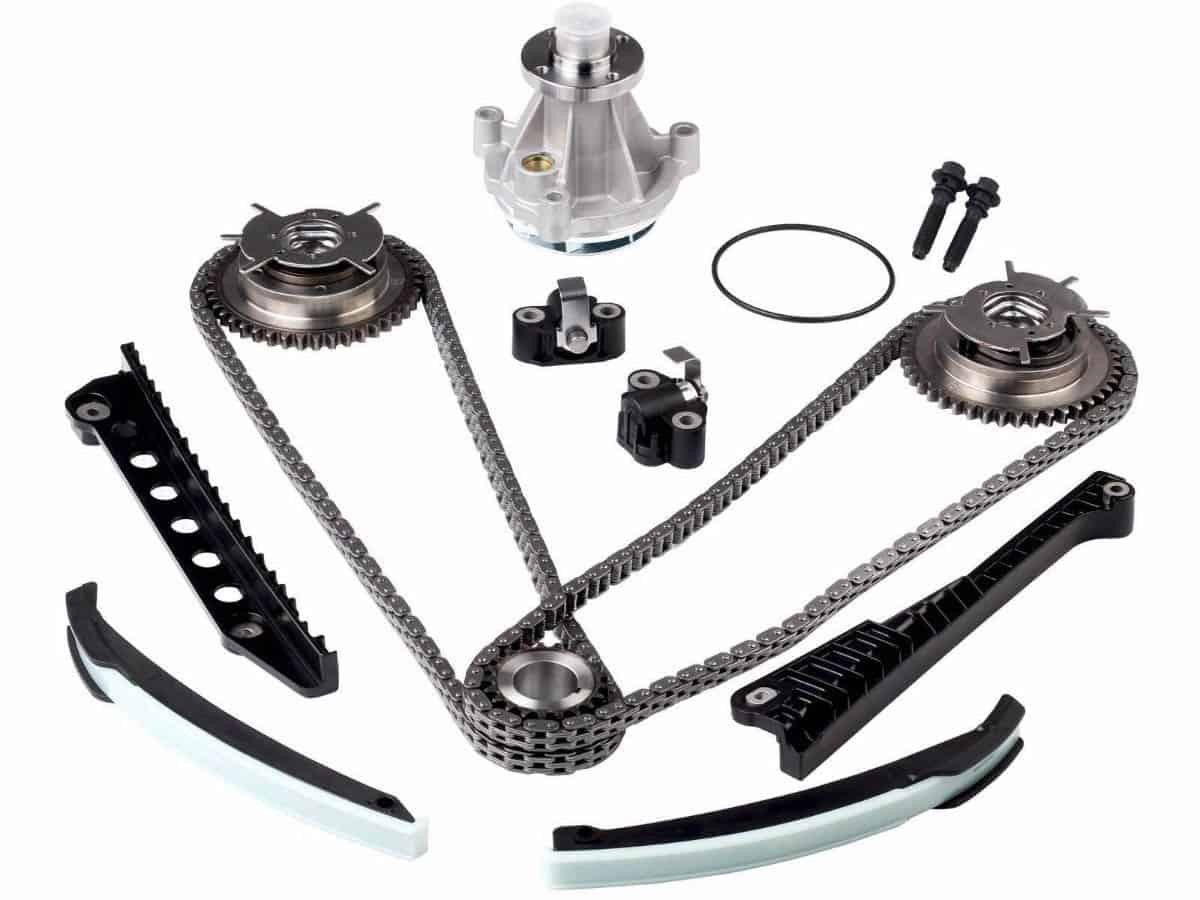 Ford 5 4 Triton Engine Timing Chain Guides Cam Phasers Autowise Alfa Romeo 54 Tensioners