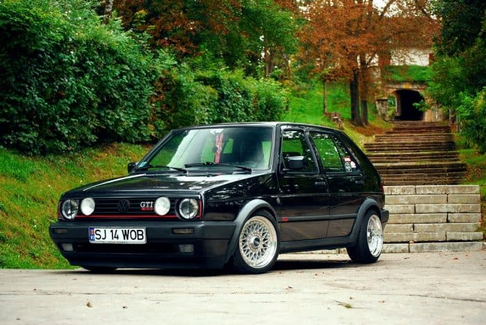 Golf MKII GTi Front 3/4