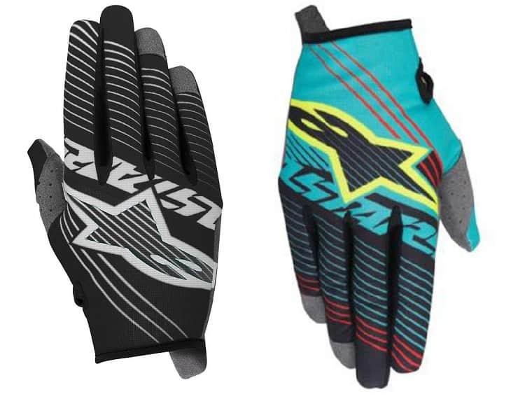 Kids Motorcycle Gloves - #01 - Alpinestars Youth Radar Tracker