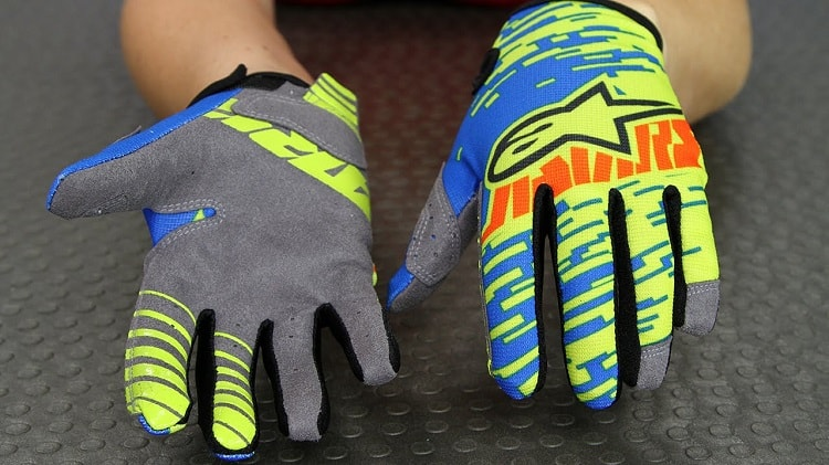 Kids Motorcycle Gloves - Textile