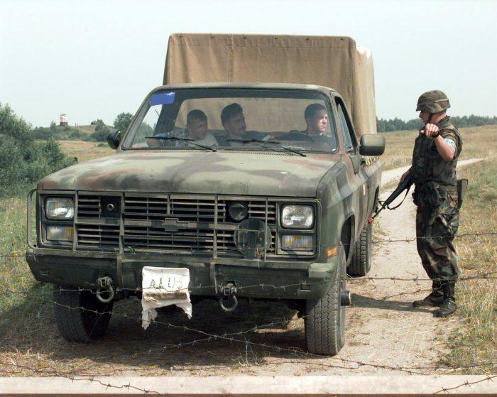 Chevy Army Truck - M1008 CUCV