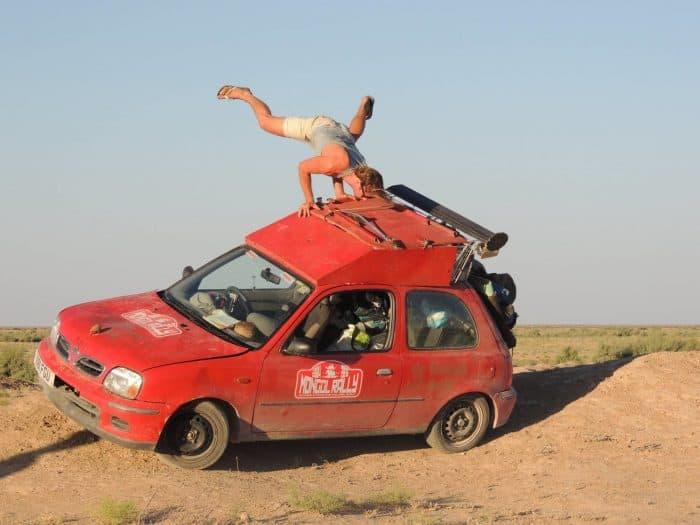 Mongol Rally Shennanigans