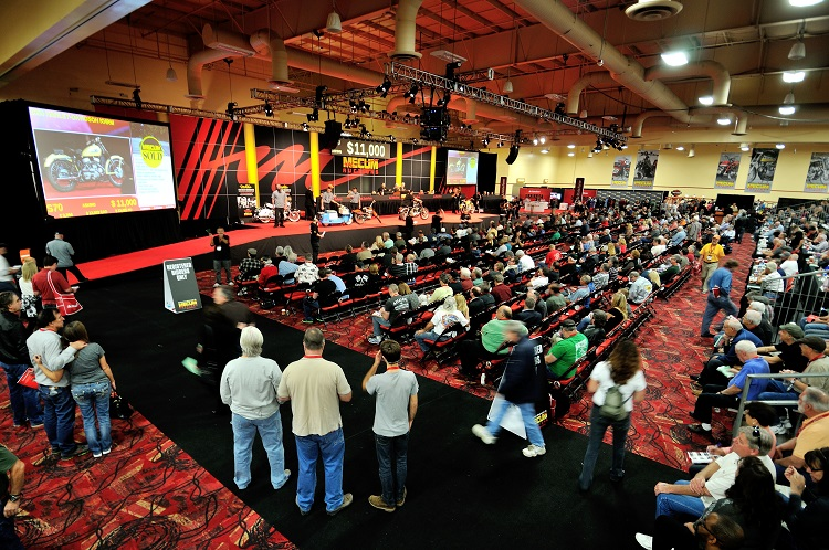 Motorcycle Auction - Mecum LV