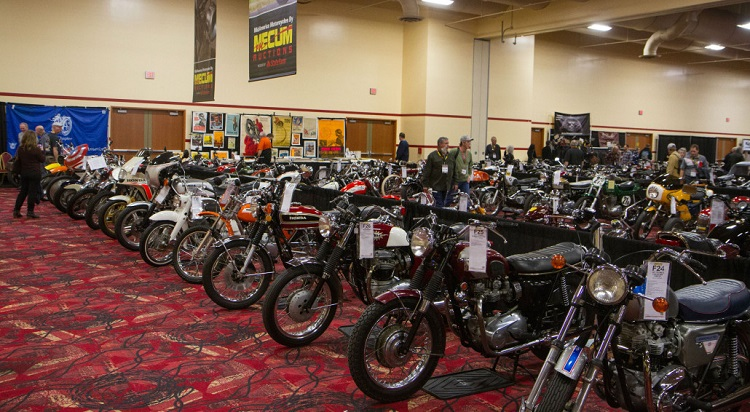 Motorcycle Auction - Mecum