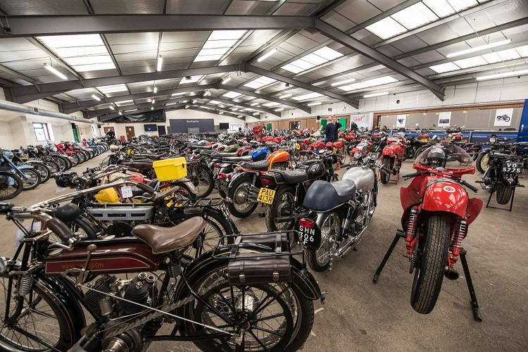Motorcycle Auction - Stafford