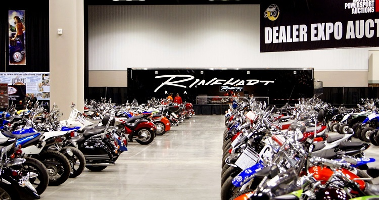 Motorcycle Auctions - Commercial Auction