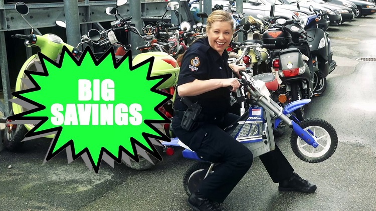 Motorcycle Auctions - Police Auction