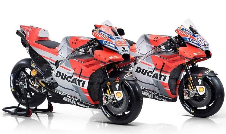 Motorcycle Names - Ducati Desmosedici GP18