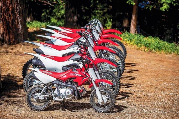 Honda CRF range