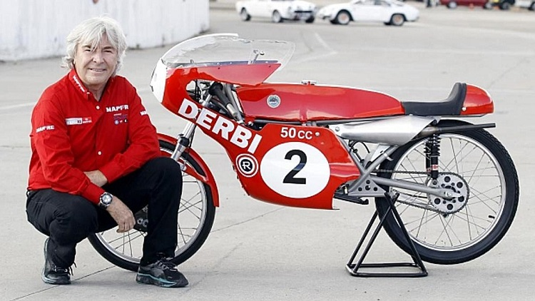 Spanish Motorcycles - Derbi Gran Premio Angel Nieto