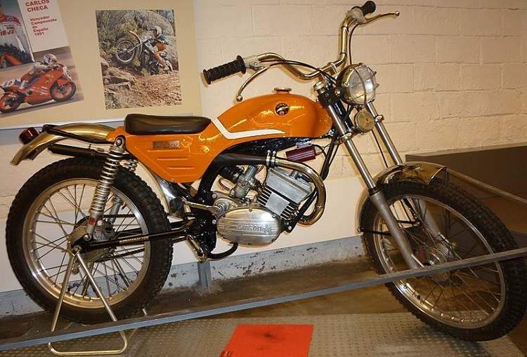 Spanish Motorcycles - Gimson Skipper Trial