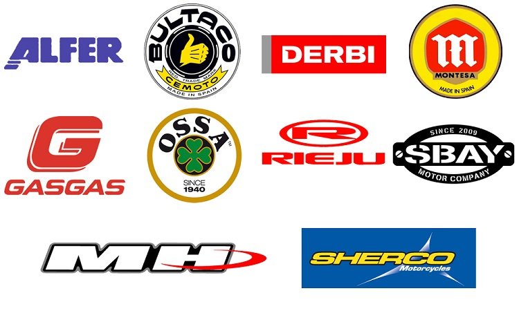 Spanish Motorcycles - Logos
