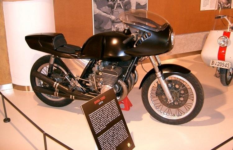 Spanish Motorcycles - Ossa BYRA 1000