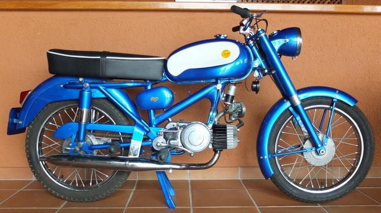 Spanish Motorcycles - Rieju Jaca 15