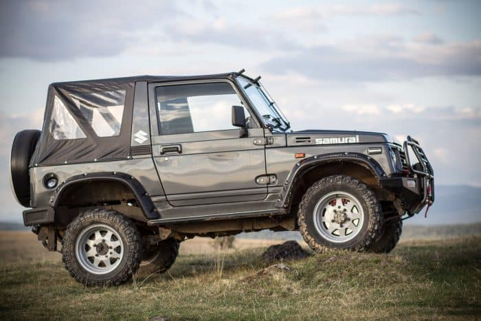 The Suzuki Samurai is one of the nice cheap cars that deserves its cult following