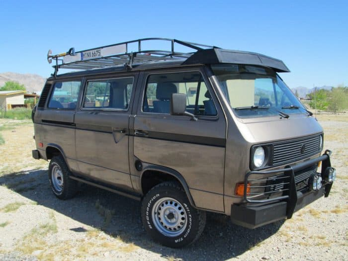 The VW Vanagon is a cult classic and one of the most versatile nice cheap cars out there