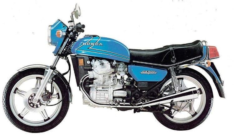 Vintage Honda Motorcycles - Honda CX500