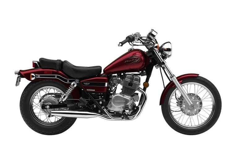 Vintage Honda Motorcycles - Honda Rebel 250