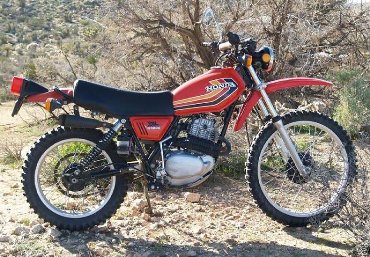 Vintage Honda Motorcycles - Honda XL250