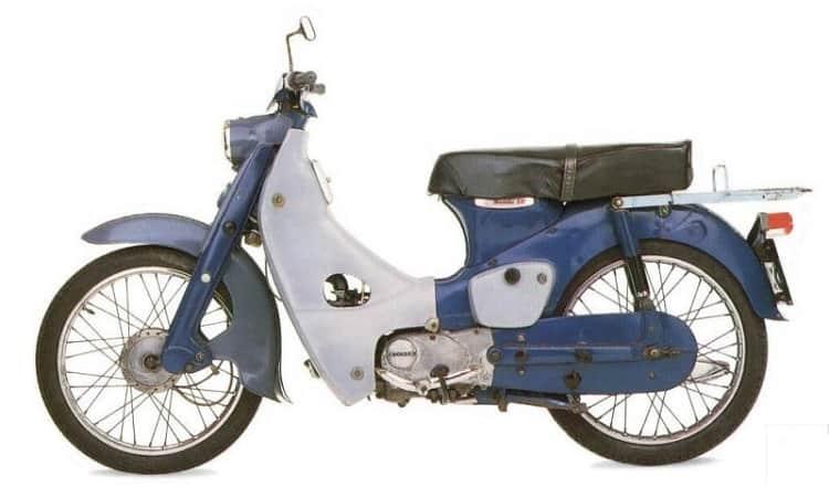 Vintage Honda Motorcycles - Super Cub