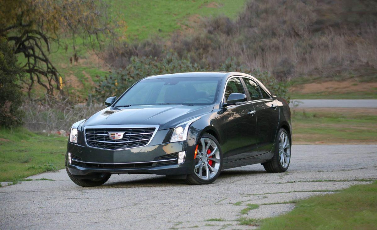 Cadillac ATS front 3/4 view