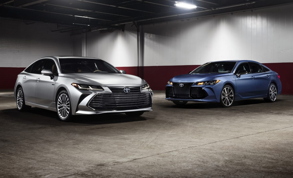 2019 Lineup - Toyota Avalon and Avalon Hybrid for MY 2019