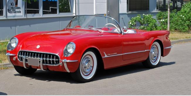 restored Corvette