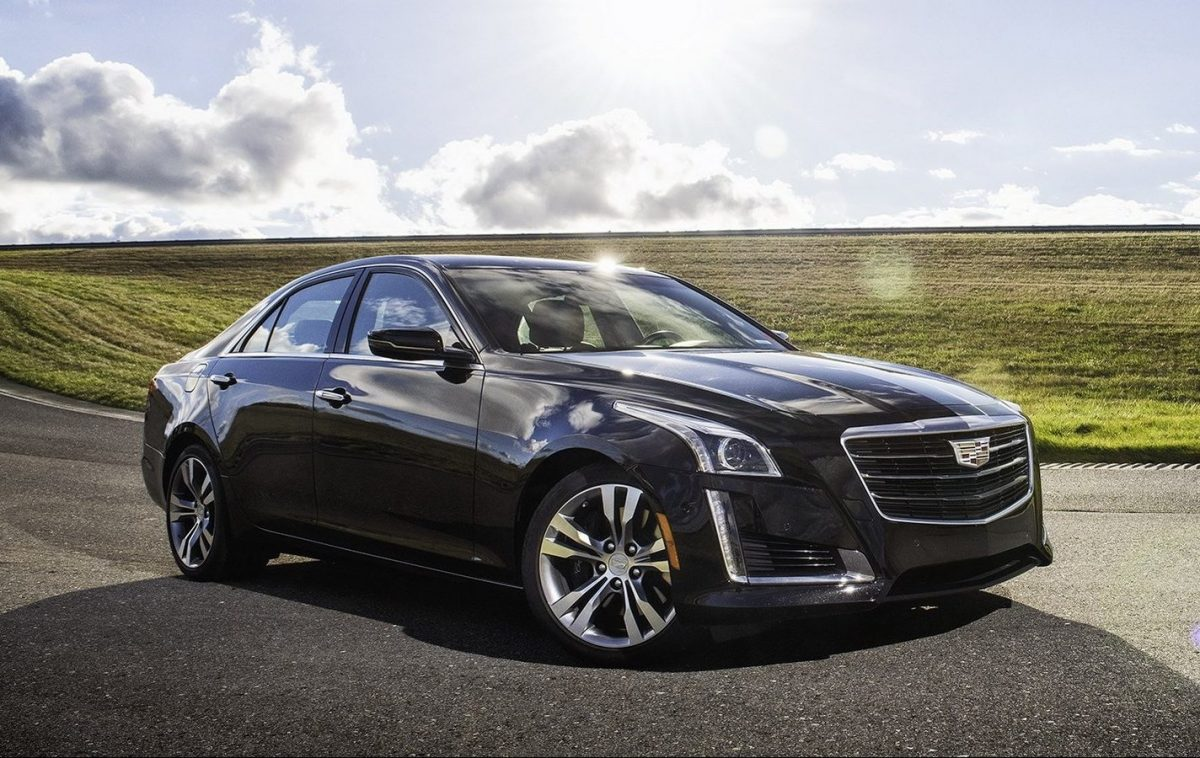 New Cadillace Models - Cadillac CTS 3/4 view