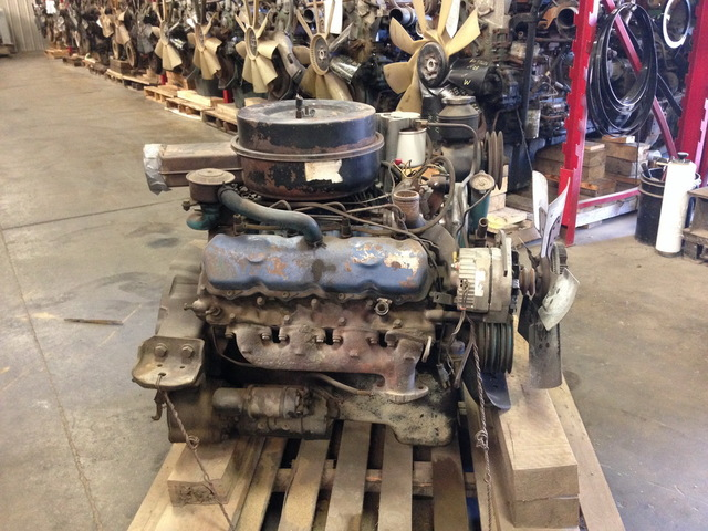 6.9L IDI Engine 1982 – 1987 is one of the first commercial Ford diesel engines