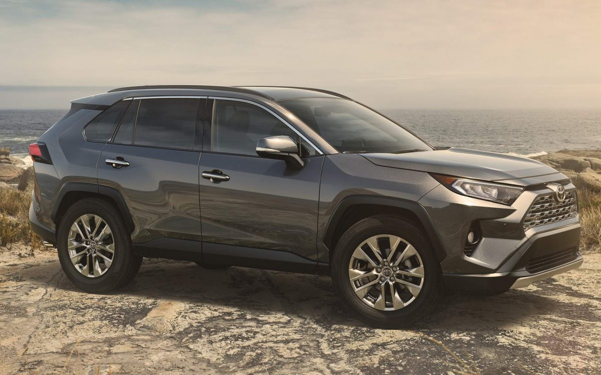 2019 Lineup - 2019 Toyota RAV4 side view