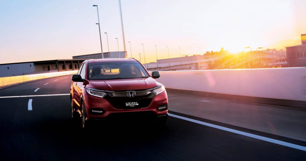 Honda Vezel (Japanese HR-V) frontal view