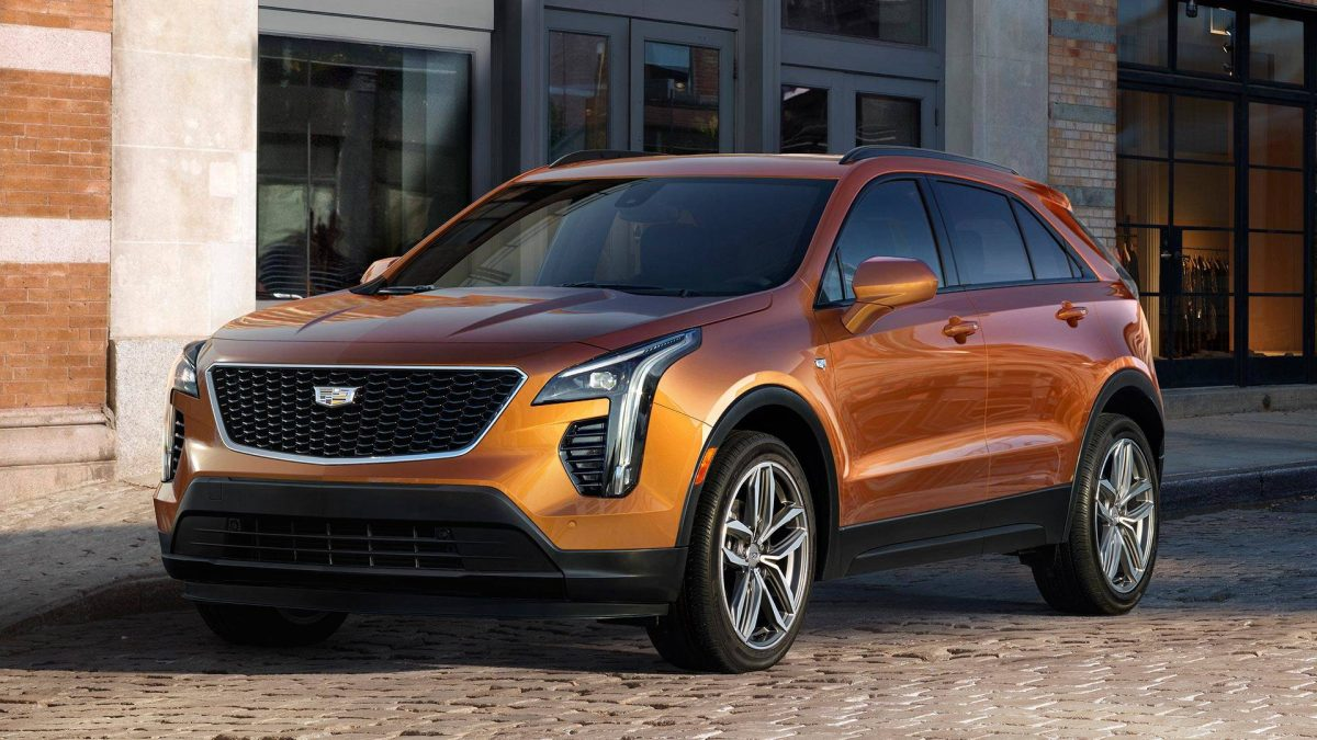 New Cadillace Models - 2019 Cadillac XT4 3/4 view