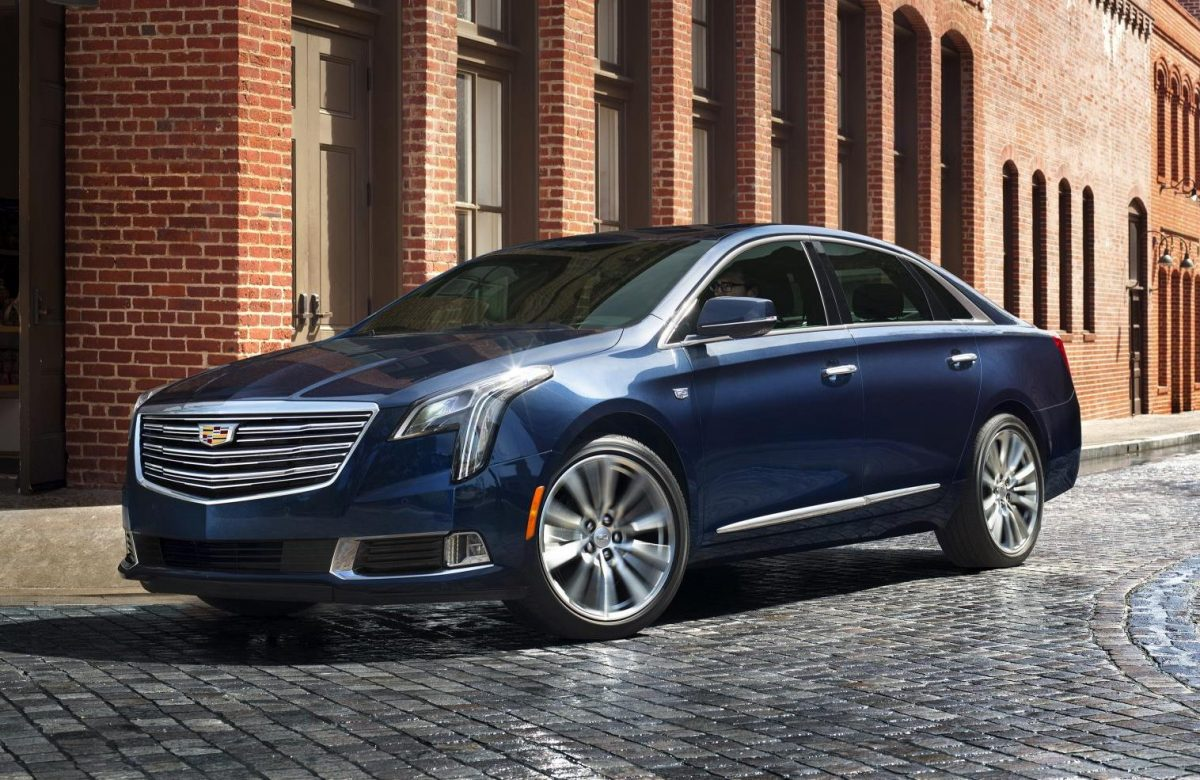 New Cadillace Models - Cadillac XTS 3/4 view